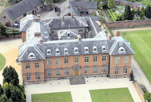 OIUT OF COUNCIL HANDS: Newport's Tredegar House
