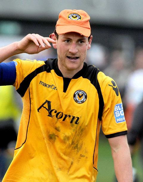 DELIGHTED: Former Newport County captain Gary Warren has joined Exeter City