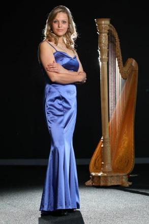 Royal harpist Hannah Stone will perform at Lower Machan Festival