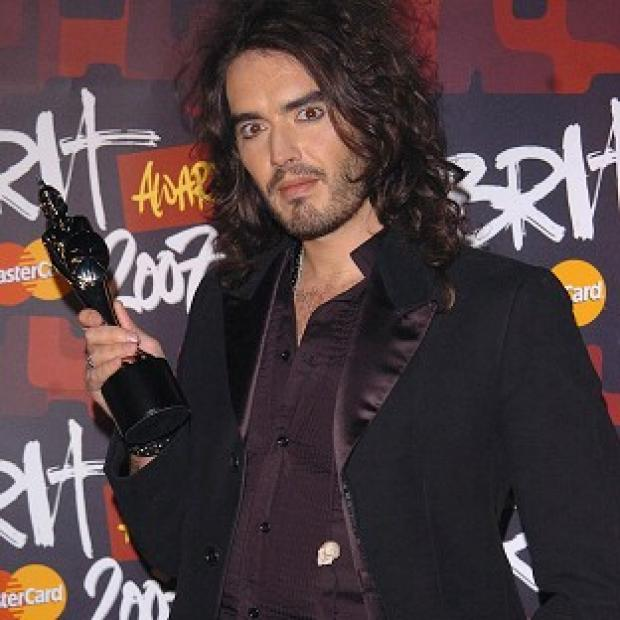 South Wales Argus: Russell Brand will join the Dalai Lama on stage