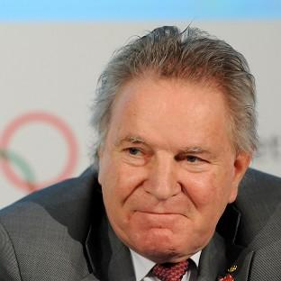 Denis Oswald said he was frustrated by claims Olympic tickets have been sold on the black market