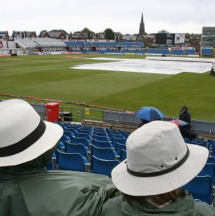The start of the one-day international between England and West Indies at Headingley is delayed due to rain