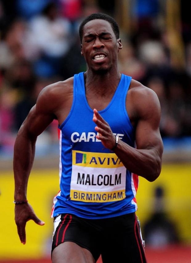Newport's Christian Malcolm will be representing Team GB