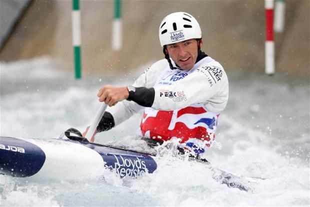 David Florence secured a silver medal in Spain at the weekend. Picture: Action Images