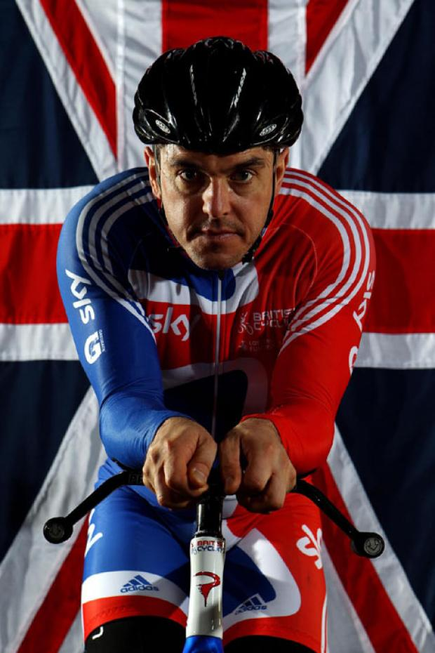 LIVING A DREAM: Paracyclist Mark Colbourne