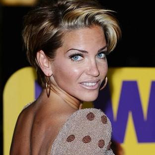 Sarah Harding revealed she is working on some solo material