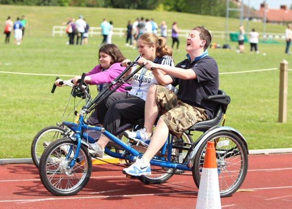 Sutton hosted the Paralympic festival on June 20