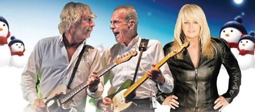 Status Quo and Bonnie Tyler will play Cardiff in December