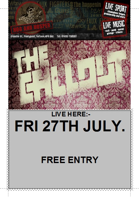 THE CALL OUT @ The Hog and Hosper