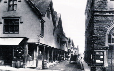 NOW AND THEN: Market Street, Abergavenny