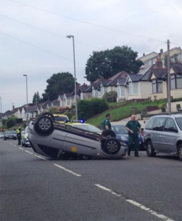SCENE: Argus reader Chris Prior sent this picture of the car on Chepstow Road, Newport