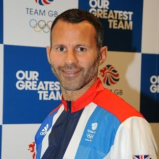 Great Britain captain Ryan Giggs is going for gold at the Olympics