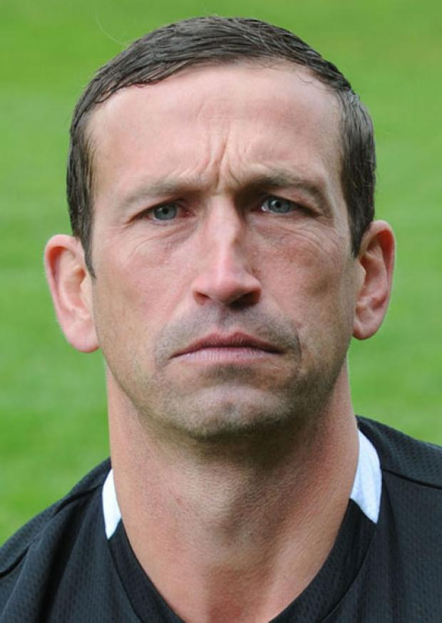 NOT GETTING CARRIED AWAY: Newport County manager Justin Edinburgh