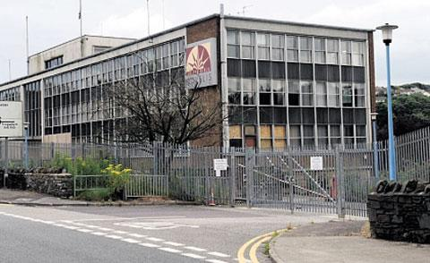 HOUSING PLAN: The former Novelis aluminium site in Rogerstone