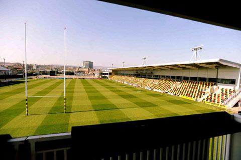 GREAT FACILITY: But the Bisley Stand at Rodney Parade led to a large debt for the Dragons