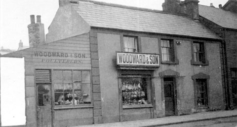 NOW AND THEN: Woodward & Son, High Street, Blackwood