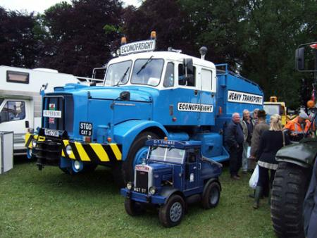 Little and large lorries at Abergavenny Steam Fair, by David James