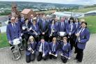 JOYFUL NOISE: Blaenavon Town Band, who launched the free open air concerts at Big Pit