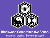 South Wales Argus: Logo for Blackwood Comprehensive School