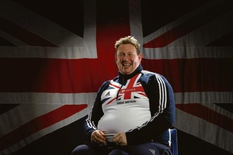 Robin Womack - named in Paralympic squad