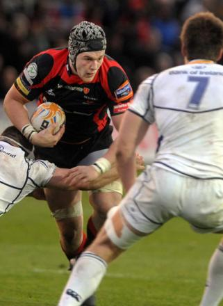 WORLD CLASS: Wales flanker Dan Lydiate will be available for the Dragons at the start of the season
