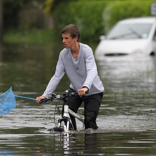 An increase in severe weather incidents in the UK is being predicted by an insurance company