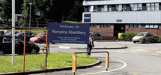 SET TO CLOSE: The Remploy factory in Abertillery