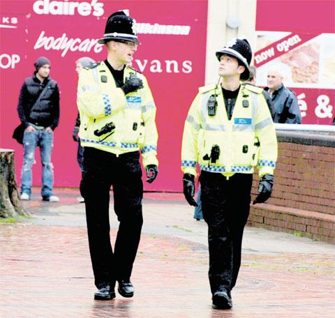 ELECTION: Police on patrol – but will the creation of a Police and Crime Commissioner for Gwent be of any benefit in the battle against crime