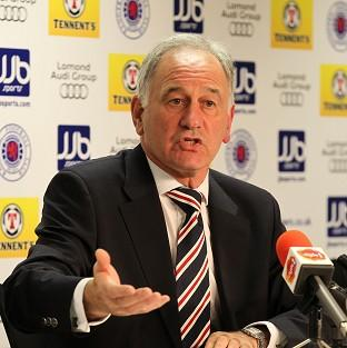 Charles Green remains in discussion with the SFA over Rangers' future
