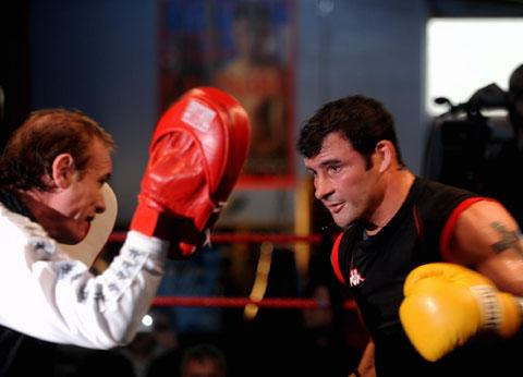 South Wales Argus: Enzo Calzaghe with his most famous pupil Joe Calzaghe