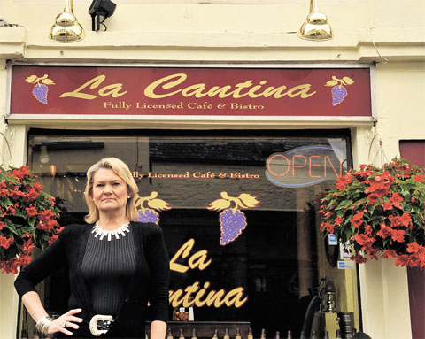 'I feel victimised' - Usk restaurant owner in lights row