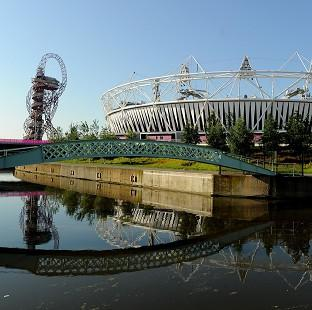 The Olympic Stadium in east London is hosting the opening ceremony