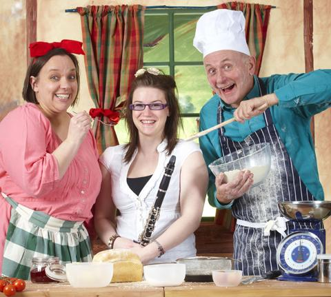 Bert's Magical Kitchen will play at Abergavenny Borough Theatre
