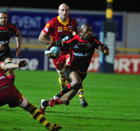 South Wales Argus: Chavhanga: Players must take blame for Dragons woes