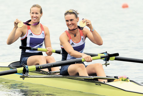 Chepstow coach's delight as British pair take rowing gold