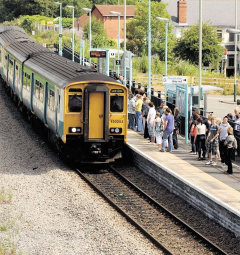 Ebbw Vale line must come before Abertillery link  - Blaenau Gwent AM