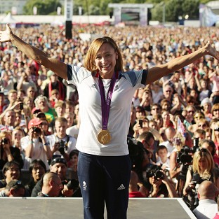 Dickie Bird has praised Jessica Ennis, pictured, and Yorkshire's other gold medal-winning athletes