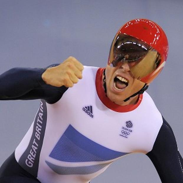 Sir Chris Hoy paid tribute to his family after winning his sixth gold medal