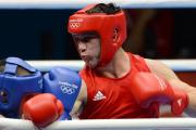 SILVER MEDAL: Newport boxer Fred Evans on his way to victory over number one ranked Egidijus Kavaliauskas