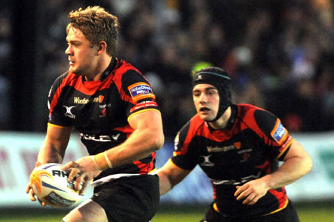 RELISHING RETURN: Dragons skipper Lewis Evans