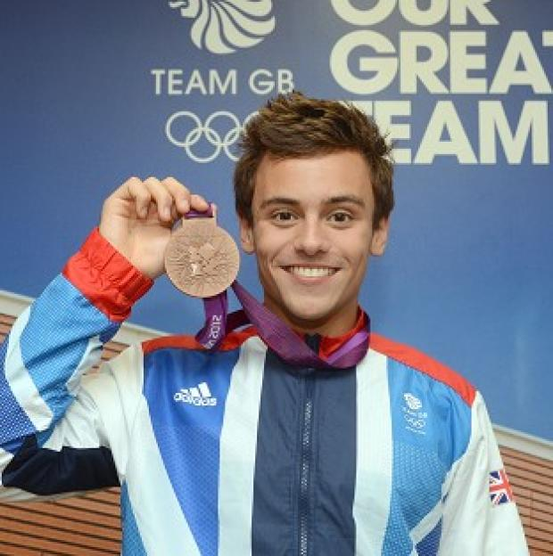 South Wales Argus: Tom Daley, who won a bronze diving medal, scored an A in his Spanish A-level