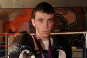 BATTLED THROUGH PAIN: Newport boxer Fred Evans with his  silver medal from the London 2012 Olympic Games
