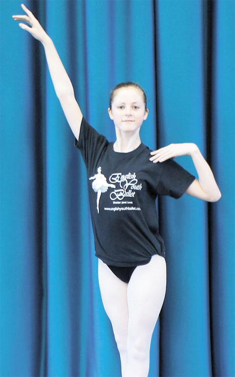DANCE CHANCE: Alys Davies will perform with the English Youth Ballet