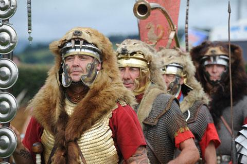 Romans return to Caerleon