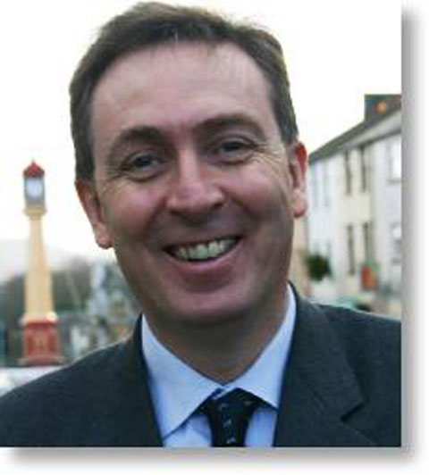 SAVE LIVES: Blaenau Gwent MP Nick Smith has called for drink to be charged at a minimum price of 50p per unit