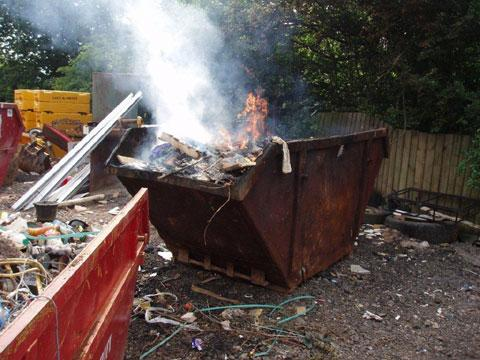South Wales Argus: Illegal dumping netted man millions