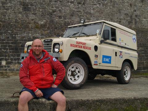 Lecturer raises cash for mountain rescue teams