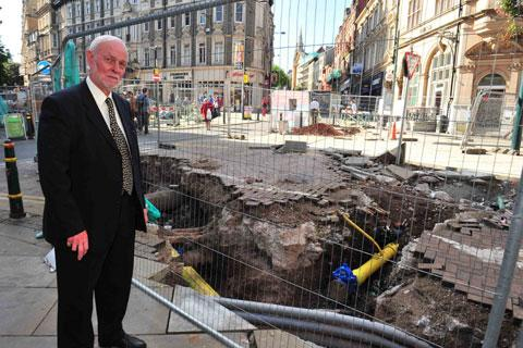 City centre gas works won't be finished until Christmas