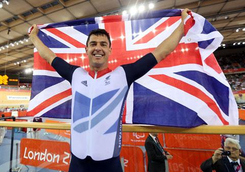 TREDEGAR's Mark Colbourne wins Paralympic silver in time trial
