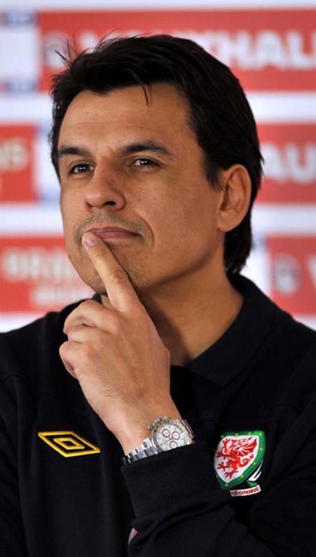 BIG WEEK: Wales boss Chris Coleman